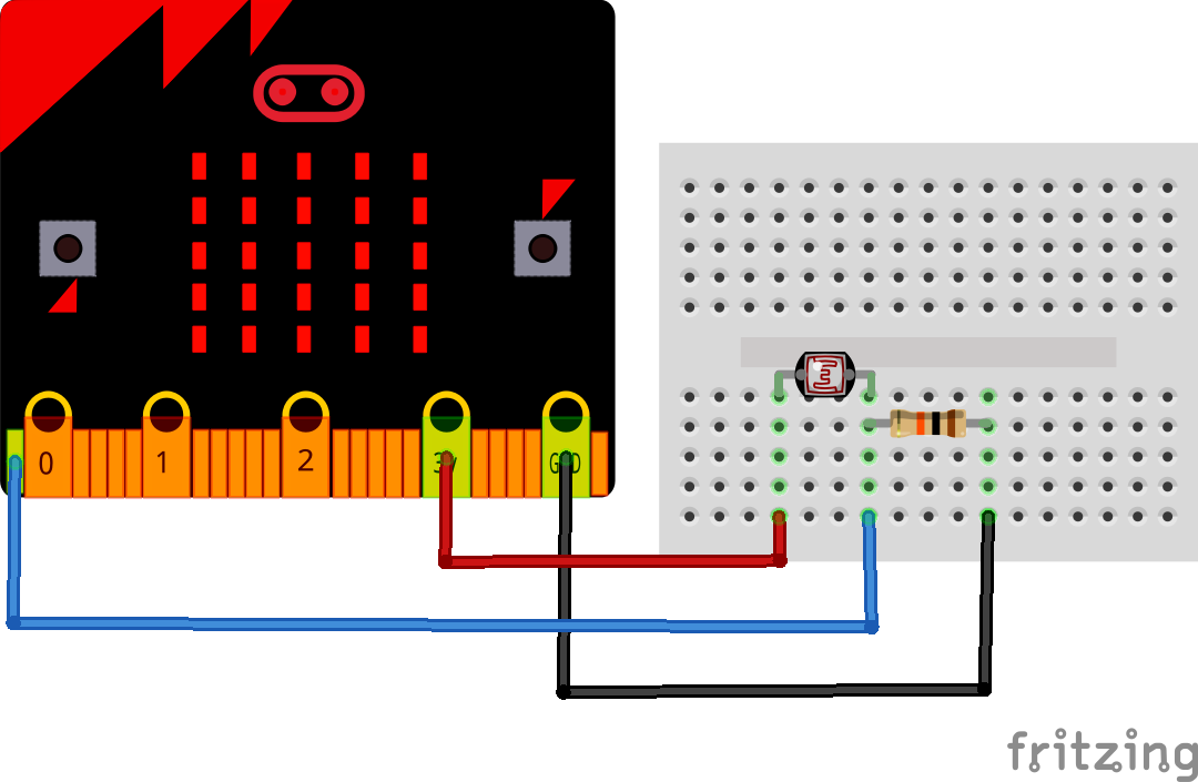 microbit and ldr