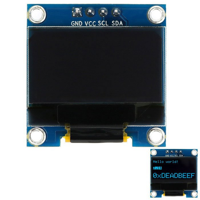 Microbit and oled display example learning