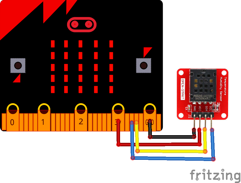 microbit and am2320