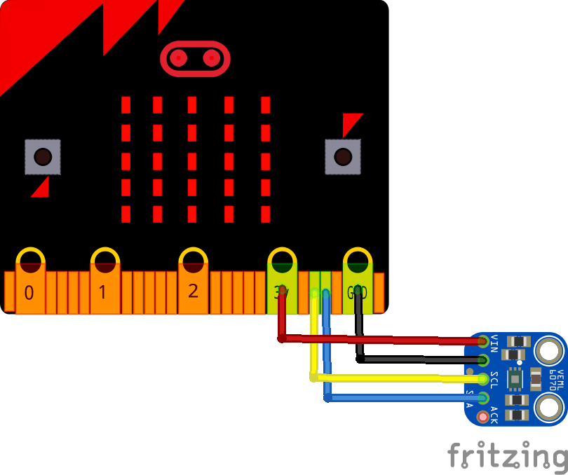 microbit and VEML6070