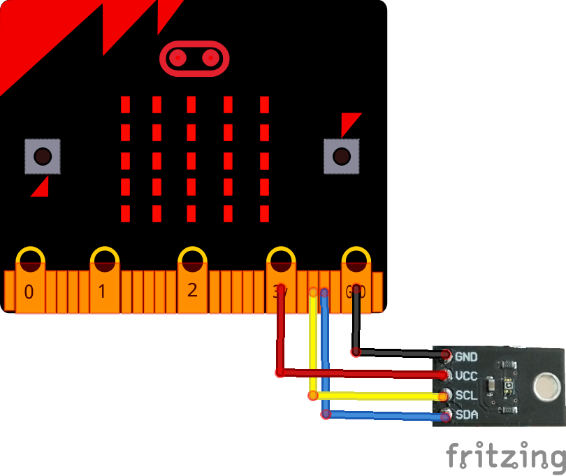 microbit and VEML6075