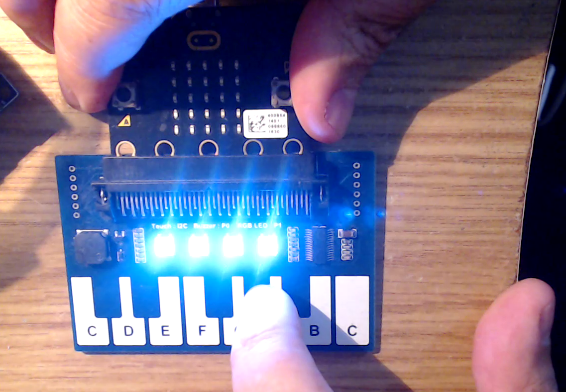 microbit piano