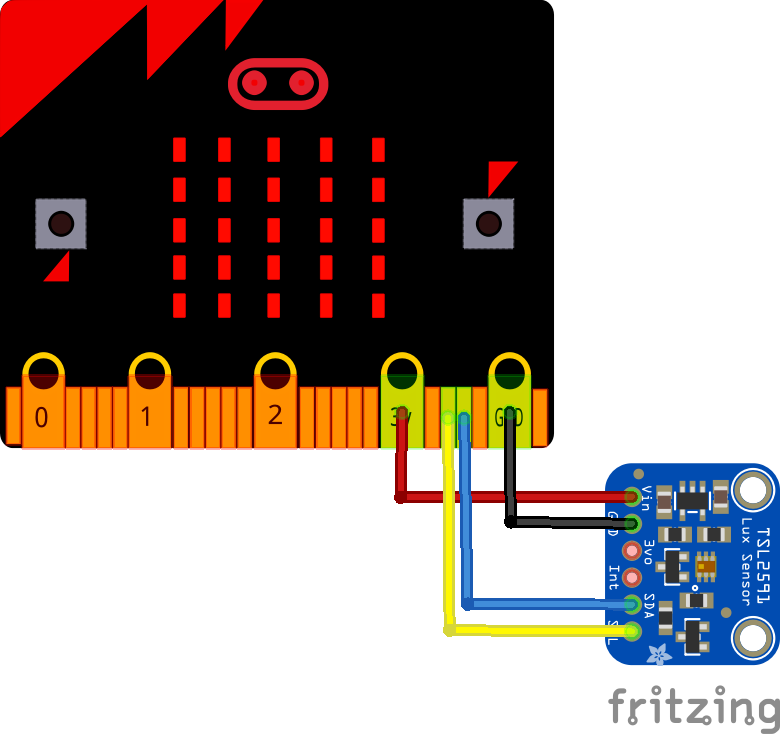 microbit and tsl2591